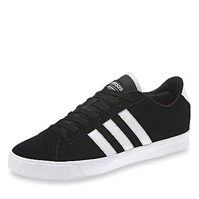 sports shoes 3d79e 72ef9 adidas CF Daily QT W, Chaussures de Sport Femme - Noir - Noir (Negbas