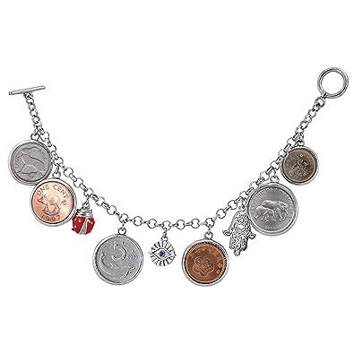 b9ec3134268c2 Amazon.com: American Coin Treasures Lucky Coin Charm Toggle Coin ...