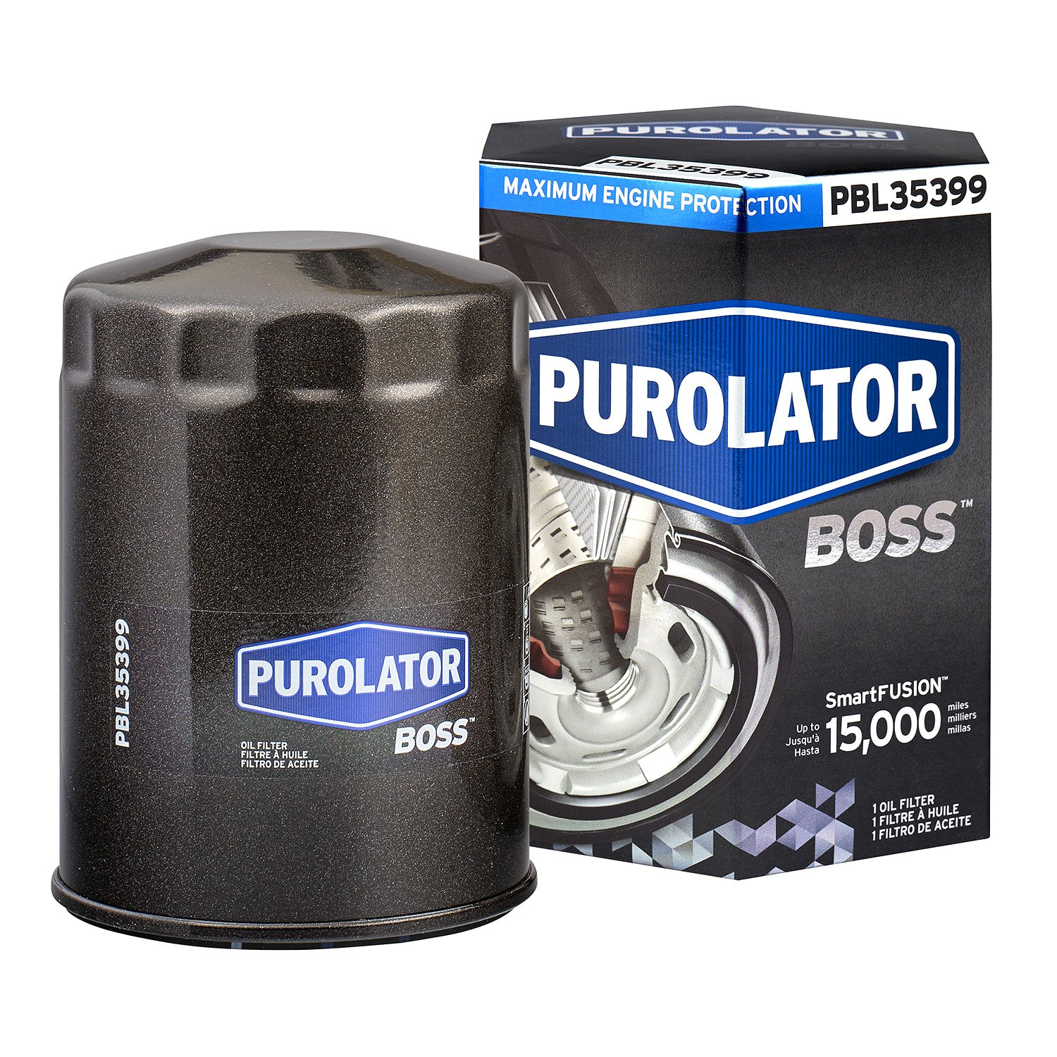 Amazon.com: Purolator PBL35399 PurolatorBOSS Premium Oil Filter: Automotive