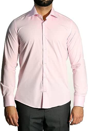 Muga combinado Puños de camisa de hombre, Slim Fit/entallado, color rosa claro, tallas disponibles S de 4 x l rosa claro XXX-Large: Amazon.es: Ropa y accesorios