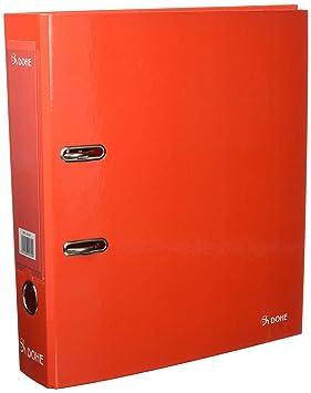 Dohe Policolor - Archivador A4, color rojo liso: Amazon.es: Oficina y papelería