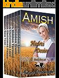 Amish Heart's Desire BoxSet: 6 Book Amish Romance Inspirational Box Set (English Edition)