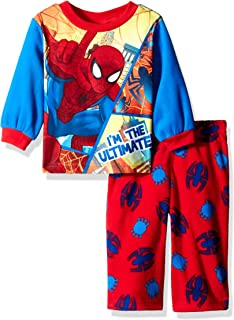 DC Comics Boys Ultimate Superman 2-Piece Fleece Pajama Set