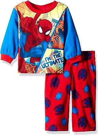 Fleece Kids 2-Piece Pajama Set Superman Boys Sleepwear