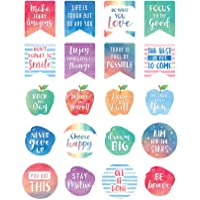 Teacher Created Resources Watercolor Words to Inspire Planner Stickers - 8193