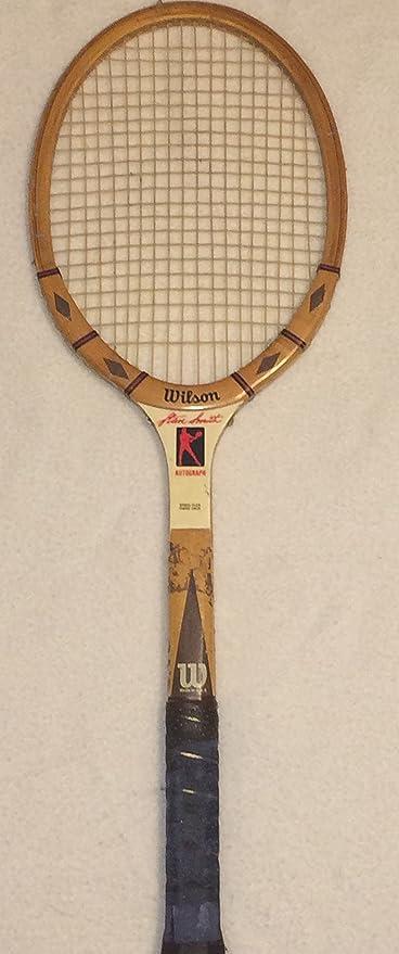 Wilson Stan Smith Autograph Wood Tennis
