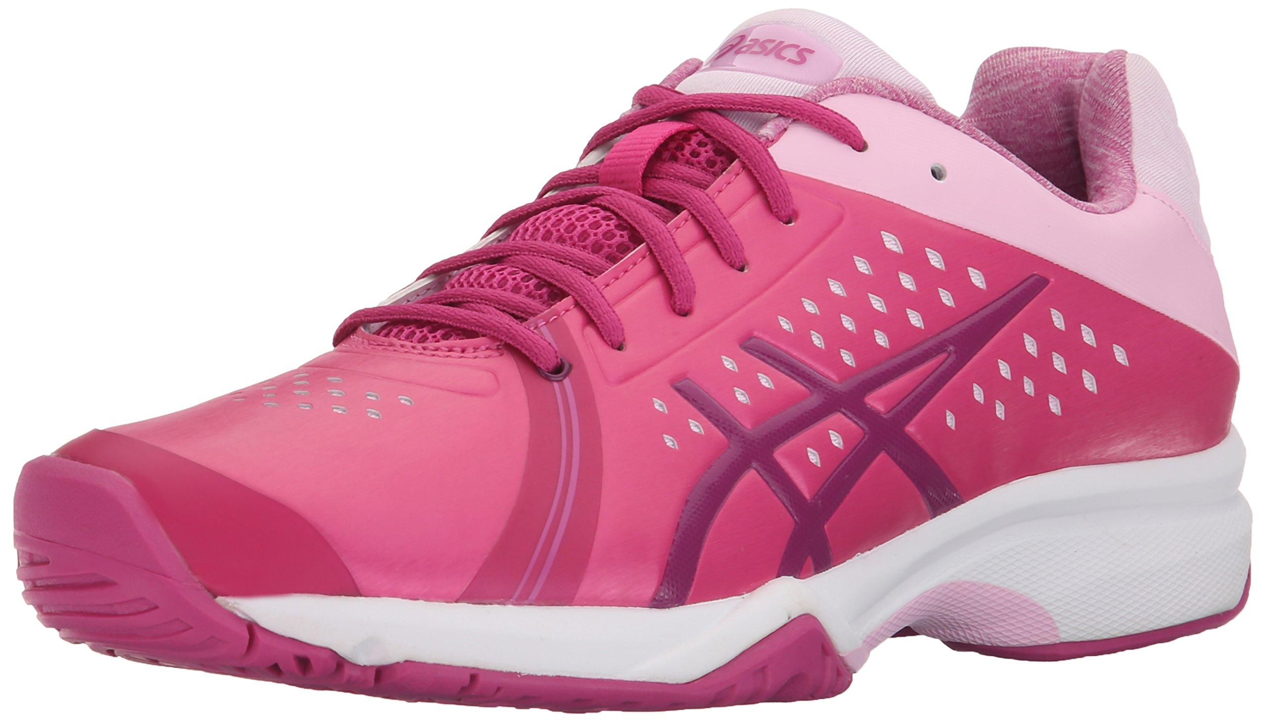 ASICS Women's GEL-Court Bella Tennis Shoe, Berry/Plum/Cotton Candy, 12 M US