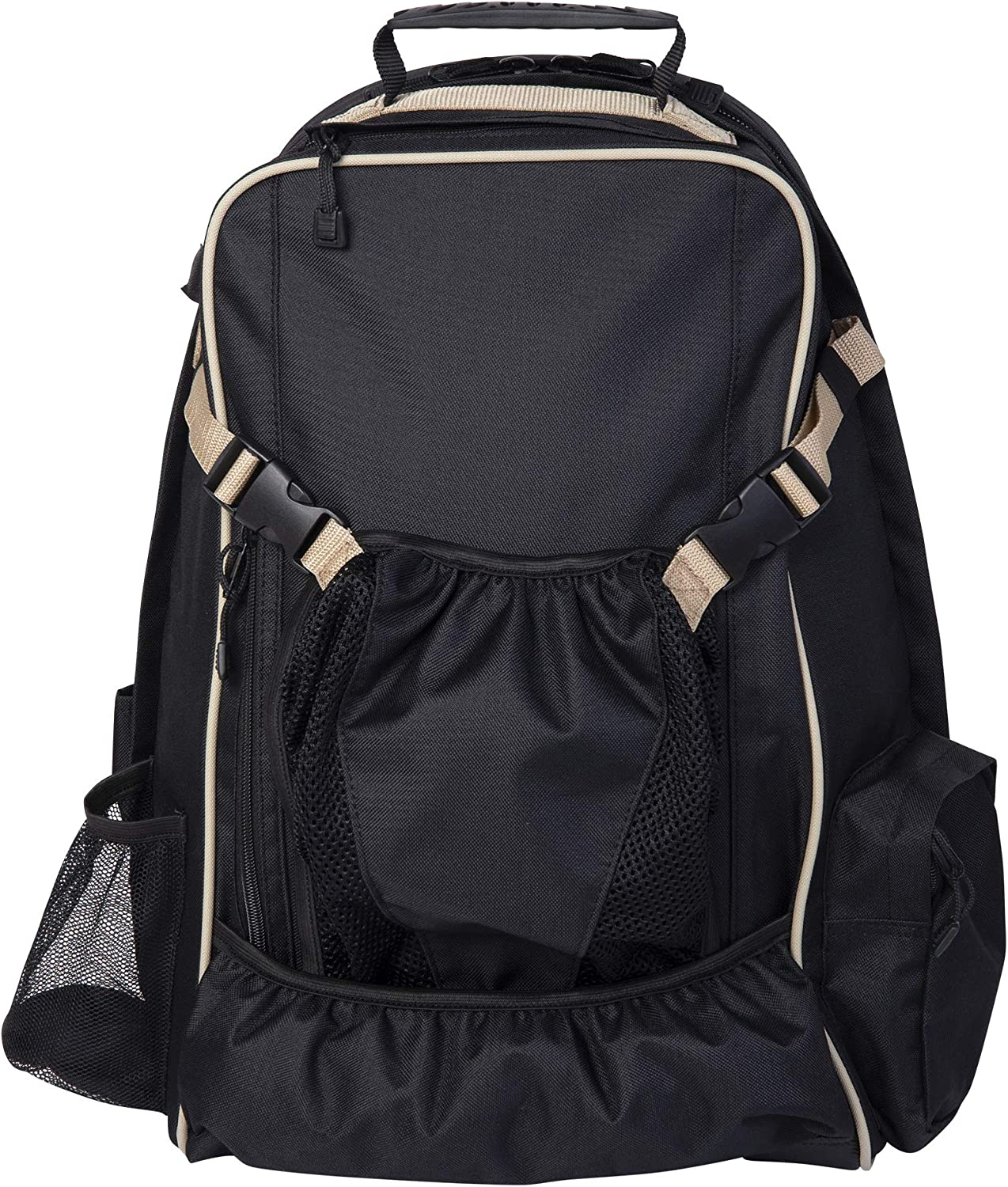 Huntley Equestrian Back Pack Black