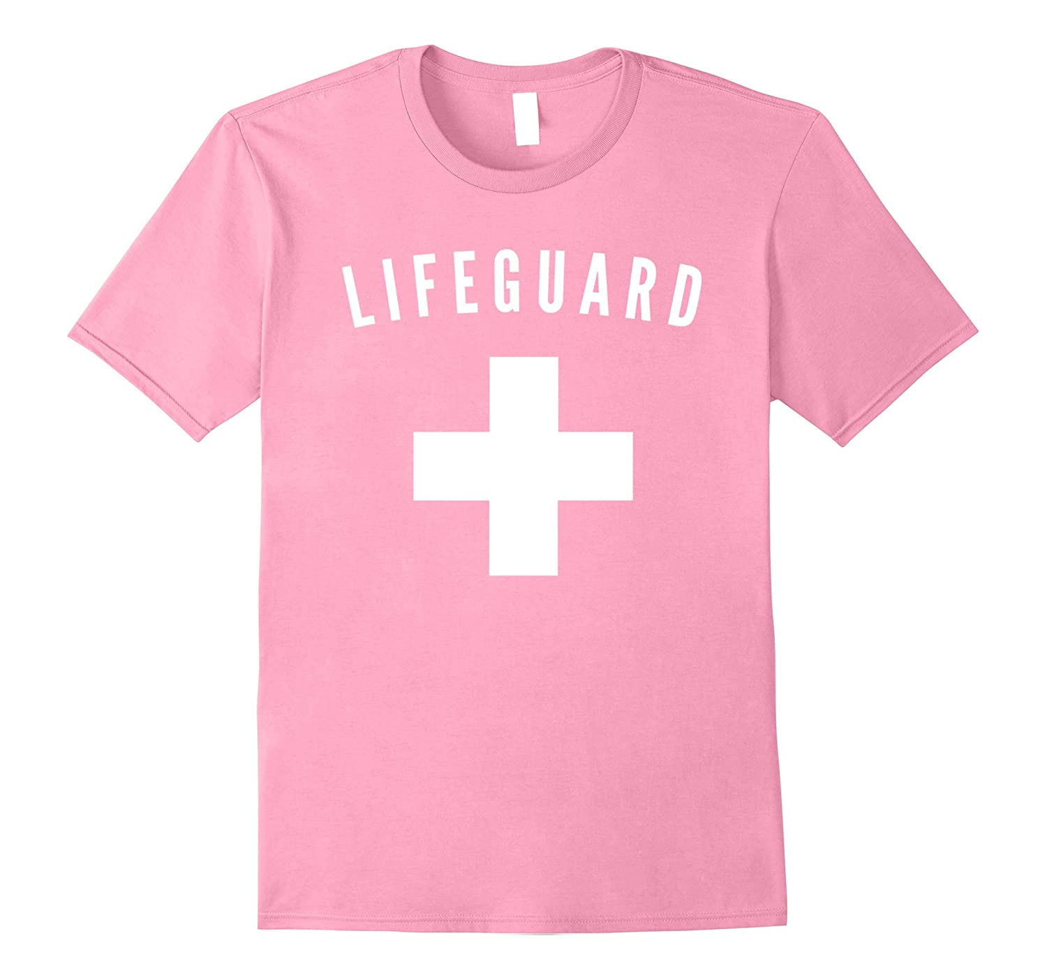 Pink Lifeguard T-Shirt-FL