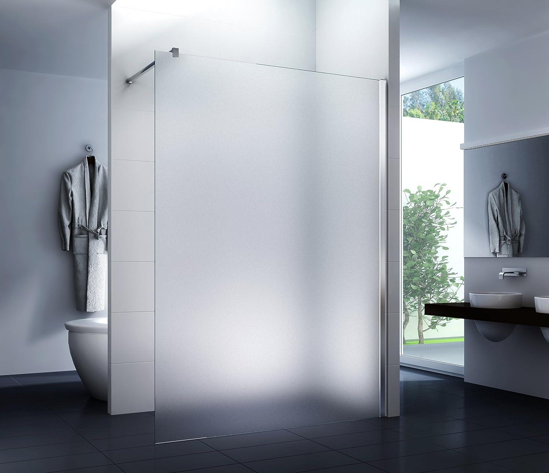 Mampara de ducha Frost 140 x 200 cm - Walk-In Cabina de ducha Ducha Vidrio de seguridad 10 mm: Amazon.es: Bricolaje y herramientas