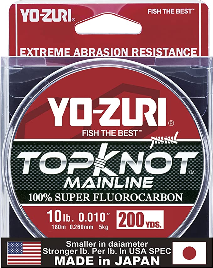 Yo-Zuri Hybrid Line 6 LB 600 Yards Clear for sale online