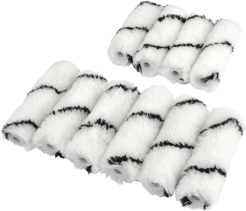 10 pi/èces CORAL 41710 polyacrylique Mini Rouleaux
