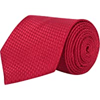 Barata Formal Ties For Men, Red Tie Formal Broad (Red8.8cmG1)