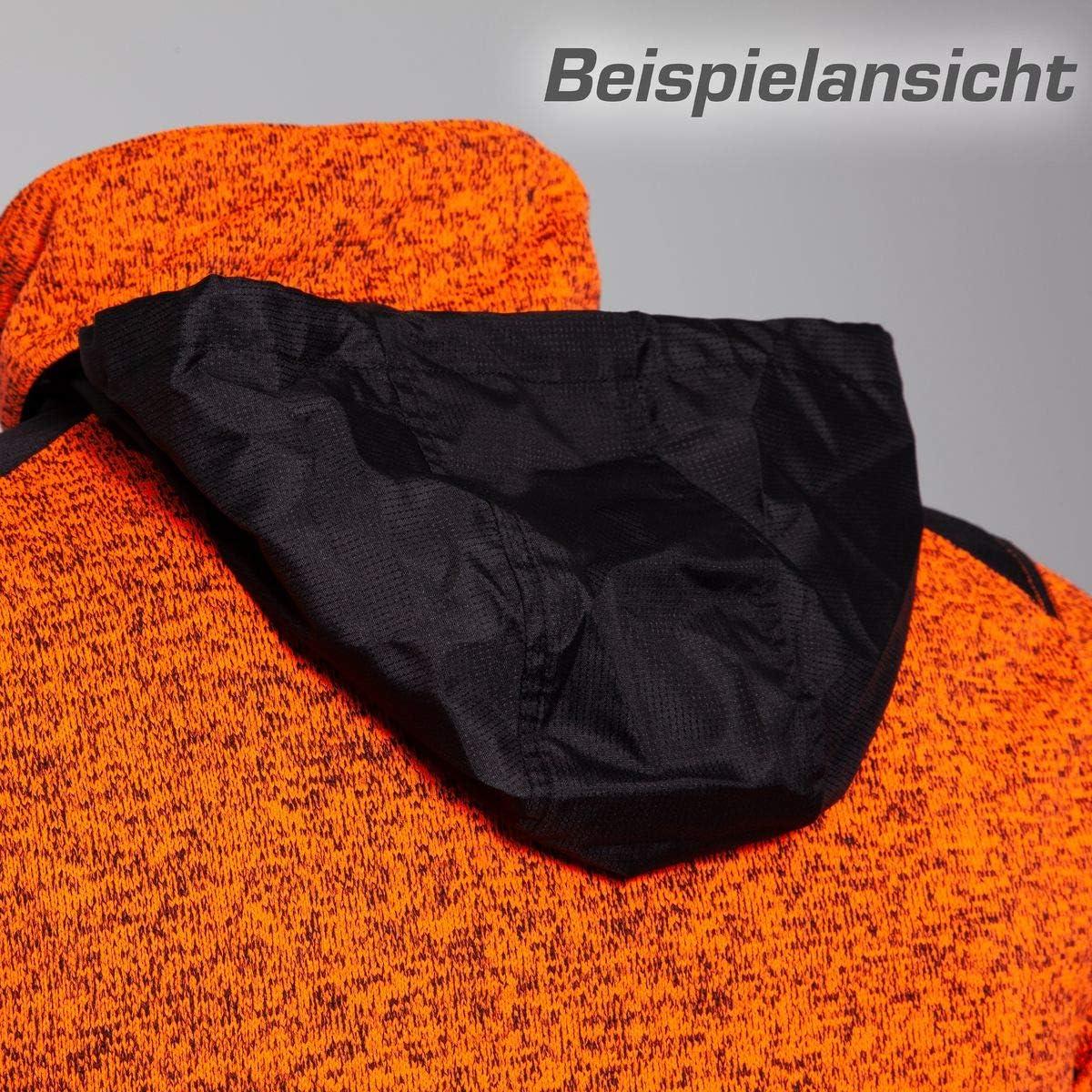 Qualitex Protectano Workwear Veste en Polaire tricotée pour Homme et Femme avec Softshell et Cordura Kiwi Chiné
