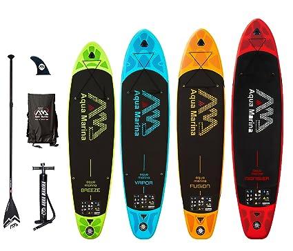 Aqua Marina Vapor Breeze Fusion Monster - Tabla de Paddle Surf ...