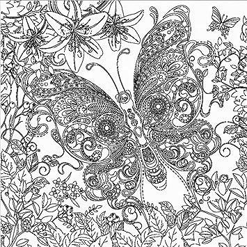 Tangle Keilrahmen Bild Leinwand Schmetterling Butterfly Zum