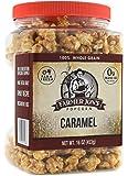 Farmer Jon's Popcorn Caramel 100% Whole Grain Net Wt 16 Ounce