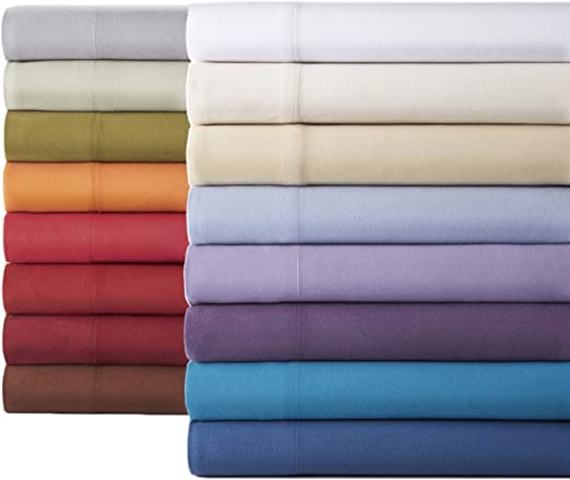 Amazon Com Micro Flannel Shavel Durable Luxurious Sheet Set Twin Xl Flat Fitted Sheet 66x96 81x39x14 Pillowcase 21x32 Charcoal Home Kitchen