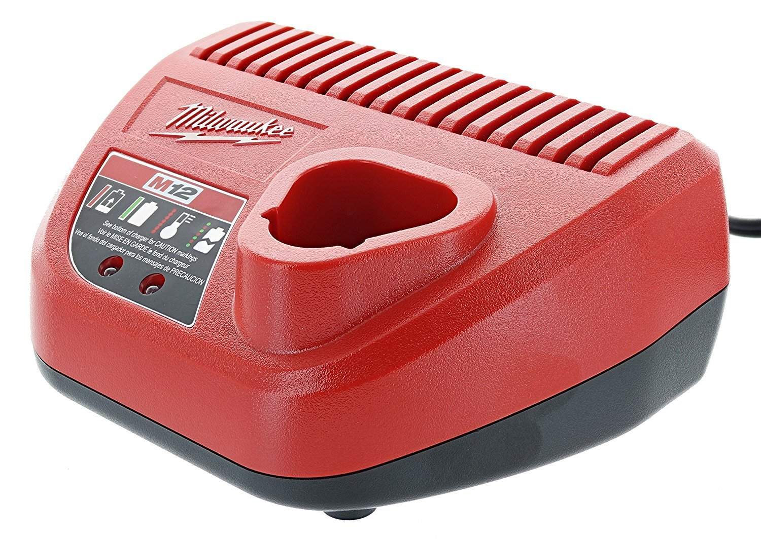 Milwaukee M12 12-Volt Lithium-Ion Battery Charger (48-59-2401)