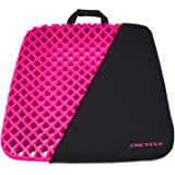 CHCYCLE Gel Seat Cushion Pressure Absorbs Honeycomb Sitter Elastic Support Chair Pad For Office, Dinner, Driving, Wheelchair & Mobility Scooter Cushions Cool And Comfort Large Seat Cushion