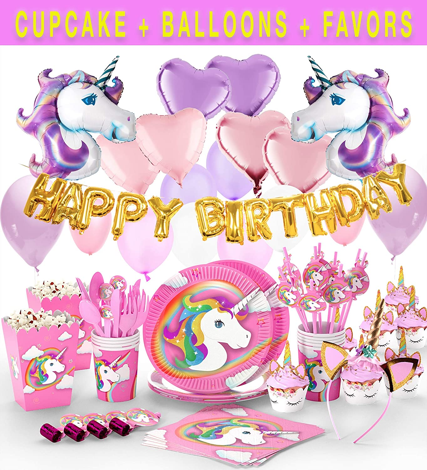 Unicorn Party Supplies Glittery Headband Jpg 1364x1500 Birthday Decorations Target