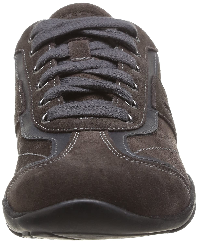 D ARROW F, Damen Sneakers, Braun (C9002DK GREY), 35 EU Geox