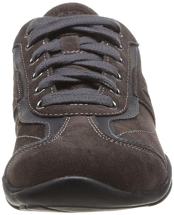 Arrow F, Sneakers Basses Femme, Gris (c9002dk Grey), 35Geox