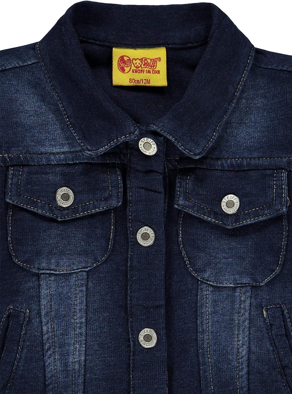 Steiff Baby-M/ädchen Knitted Jeans Jacke