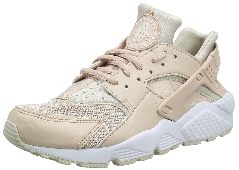 Nike Wmns Air Huarache Run, Entrenadores para Mujer 36.5 EU|Negro (Particle Beige/Desert Sand/White 202)