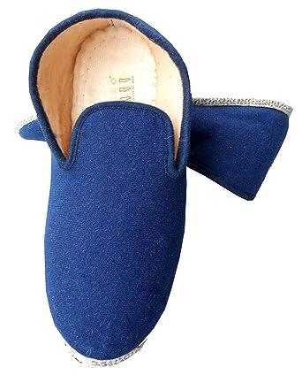 a3ac4ec070116 Fargeot Rondinaud Charentaise non fourrée MARINE semelle antidérapante sur  feutre 35 à 49  Amazon.fr  Vêtements et accessoires