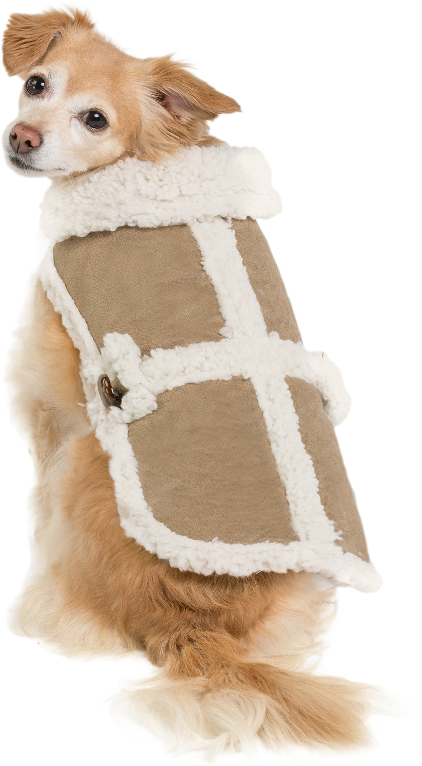Friends Forever Sherpa and Quilted Winter Vest for Small to Medium Size Dogs  Only efcecedb8
