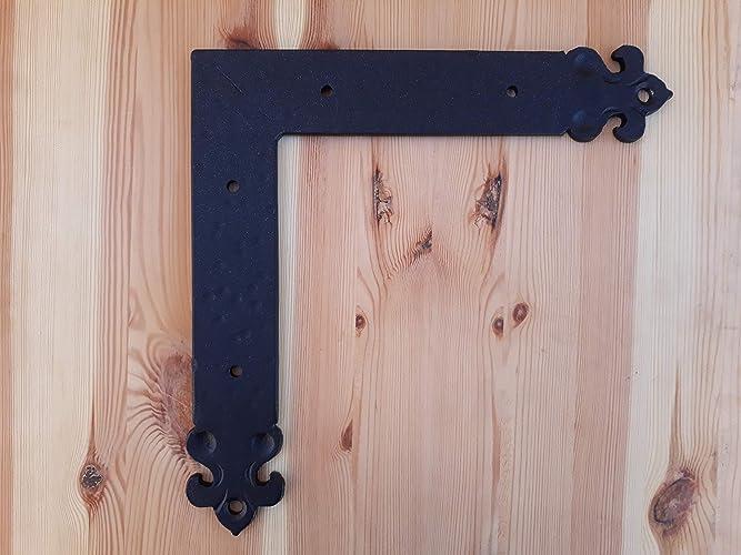 Escuadra forja Herrajes contraventana puertas madera, herraje madera cobertizo