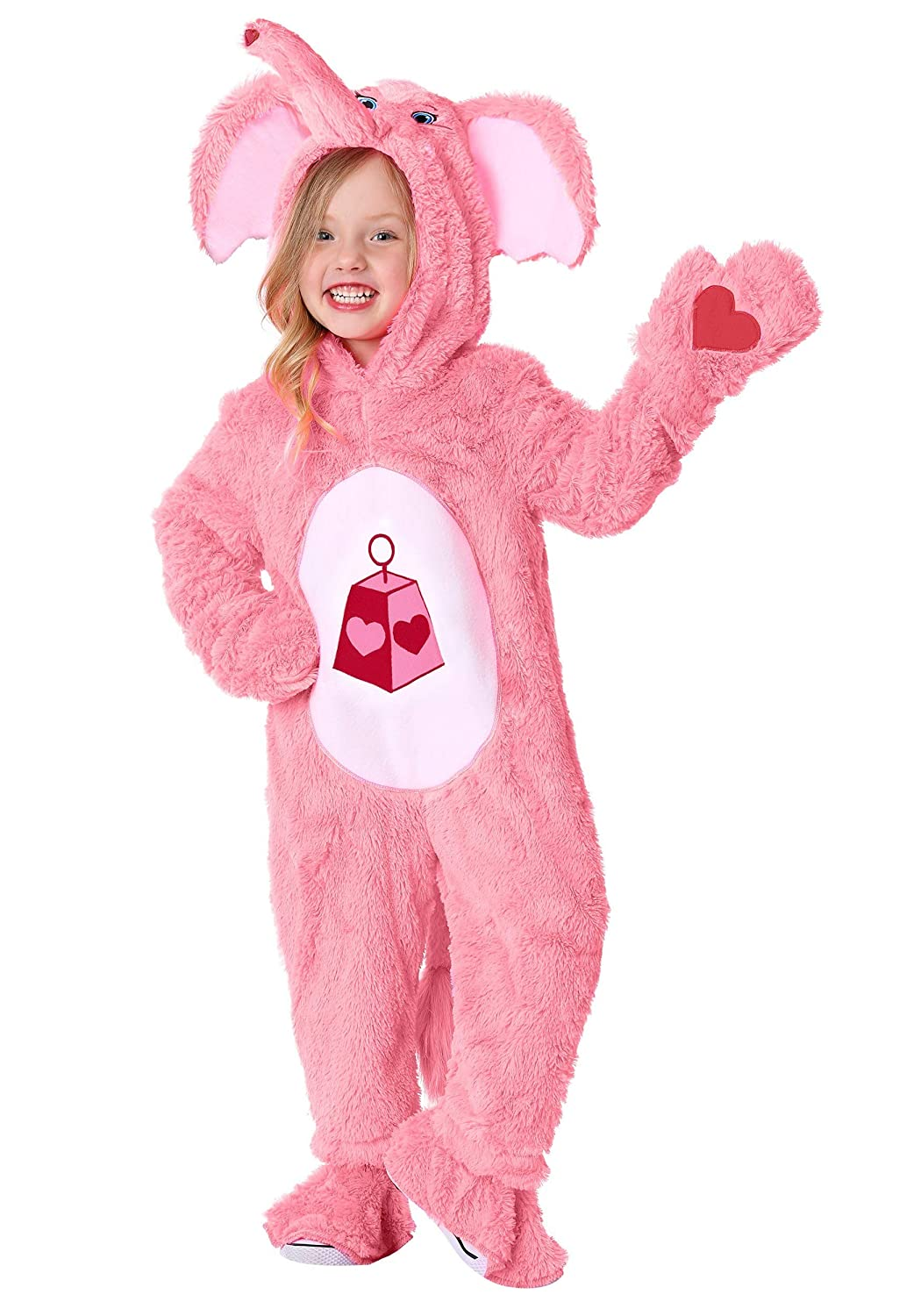 4T Care Bears & Cousins Toddler Lotsa Heart Elephant Costume 4T