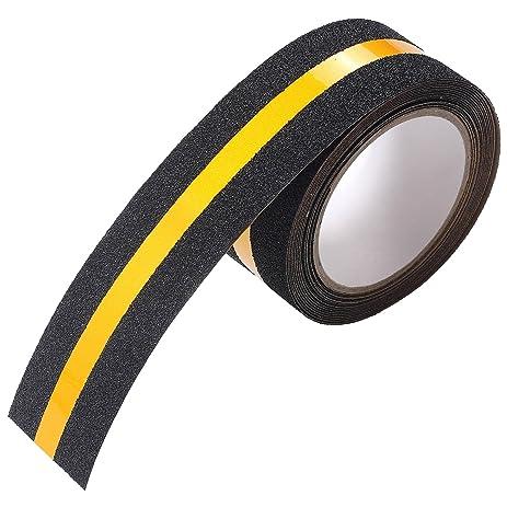 Anti Slip Tape , IMLEZON Stair Treads Reflective Self Adhesive Tape Anti  Slip Safety Tape High