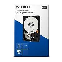 WD Blue 1 TB Interne Festplatte (8,89 cm (3,5 Zoll) 7200 U/min, SATA, 6 Gb/s, 64 MB Cache) (Retail Kit)