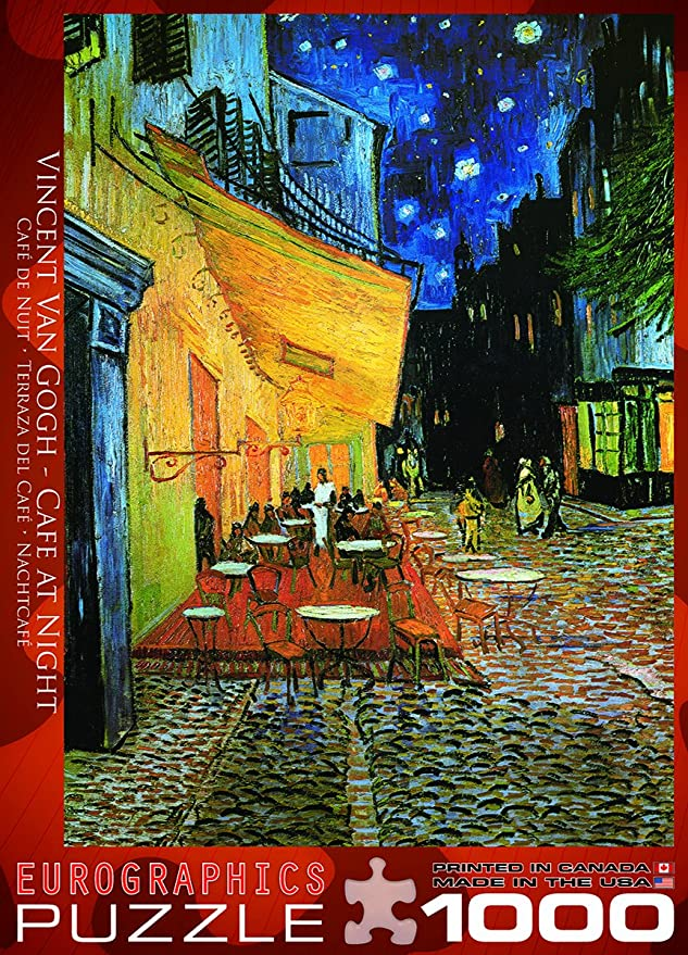 Amazon Com Eurographics Van Gogh Cafe En La Noche 1000