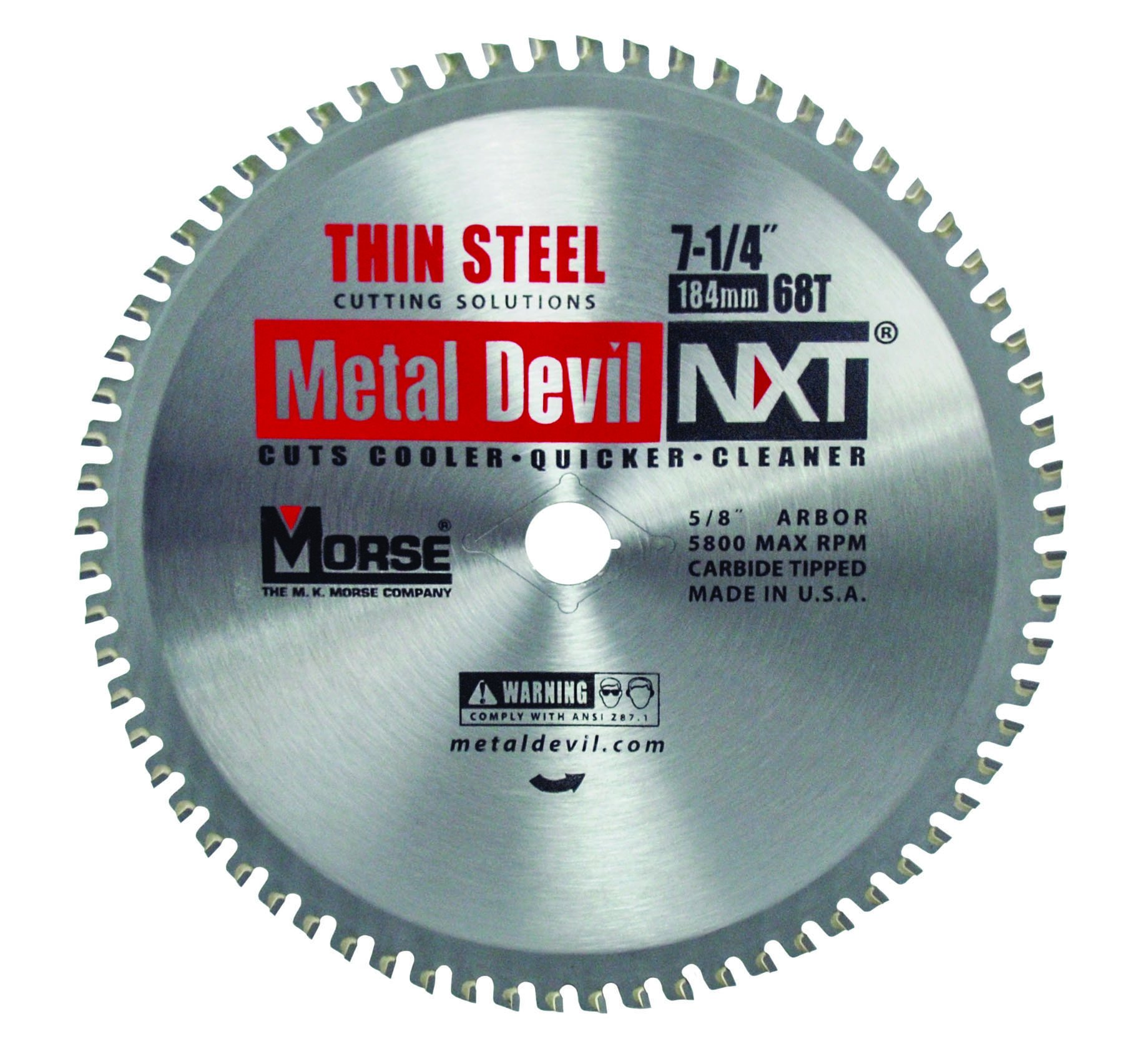 Disco Sierra MK MORSE CSM72568NTSC Metal Devil Thin Steel