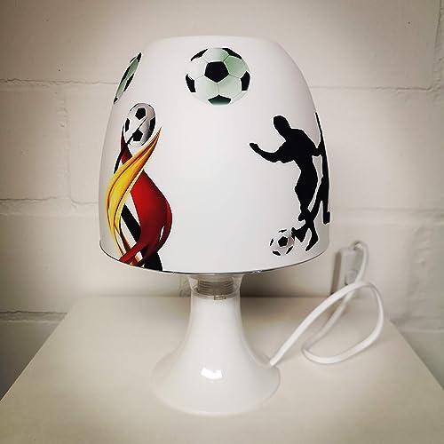 Tischlampe Fussball Verein Sport Ball Personalisiert
