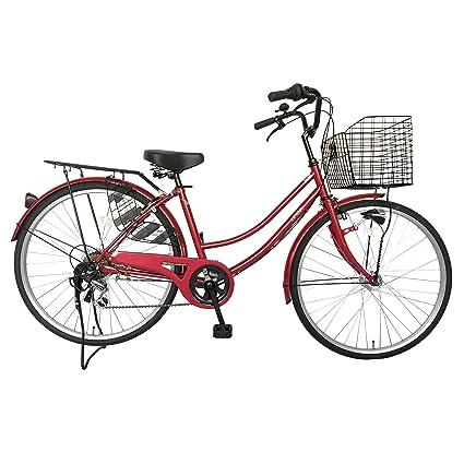 自転車 26インチ サントラスト ママチャリ 6段変速ギア