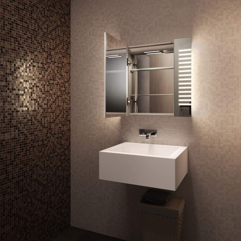 Rasoir k1601 Diamond X Collection Armoire de Toilette LED Beatle Anti-Bu/ée Beatle Capteur