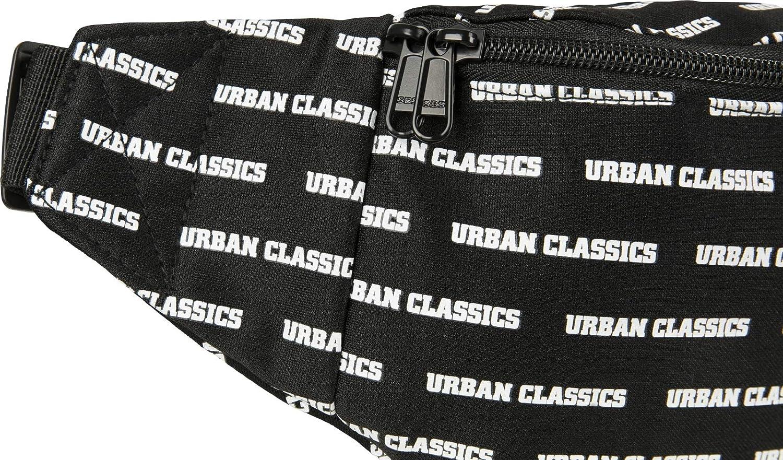 Urban Classics Urban Classics Shoulder Bag 38 cm Black/White