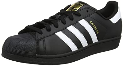 Adidas Originals Superstar Foundation B27140 adulte (homme ou femme) Chaussures de sport, Noir