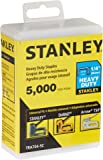 Stanley Tra704-5C Heavy Duty Narrow Crown Staples,1/4 Inch,Pack of 5000(Pack of 5000)