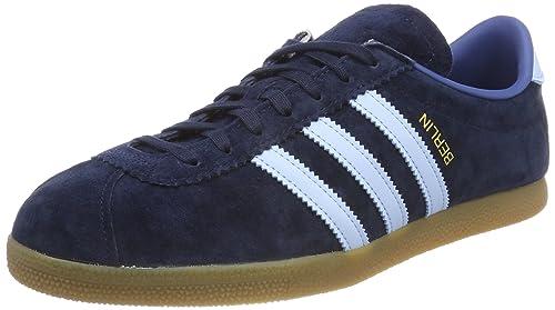 promo code 8c8a2 0955e adidas Berlin, Zapatillas para Hombre, Azul (Dark Marine Clear Sky Trace  Blue 0), 48 EU  Amazon.es  Zapatos y complementos