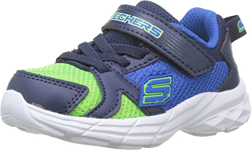 Skechers Eclipsor Interpulse Toddler Training Sneaker bluelime