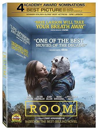 Amazon.com: Room [DVD + Digital]: Brie Larson, Megan Park, Joan ...