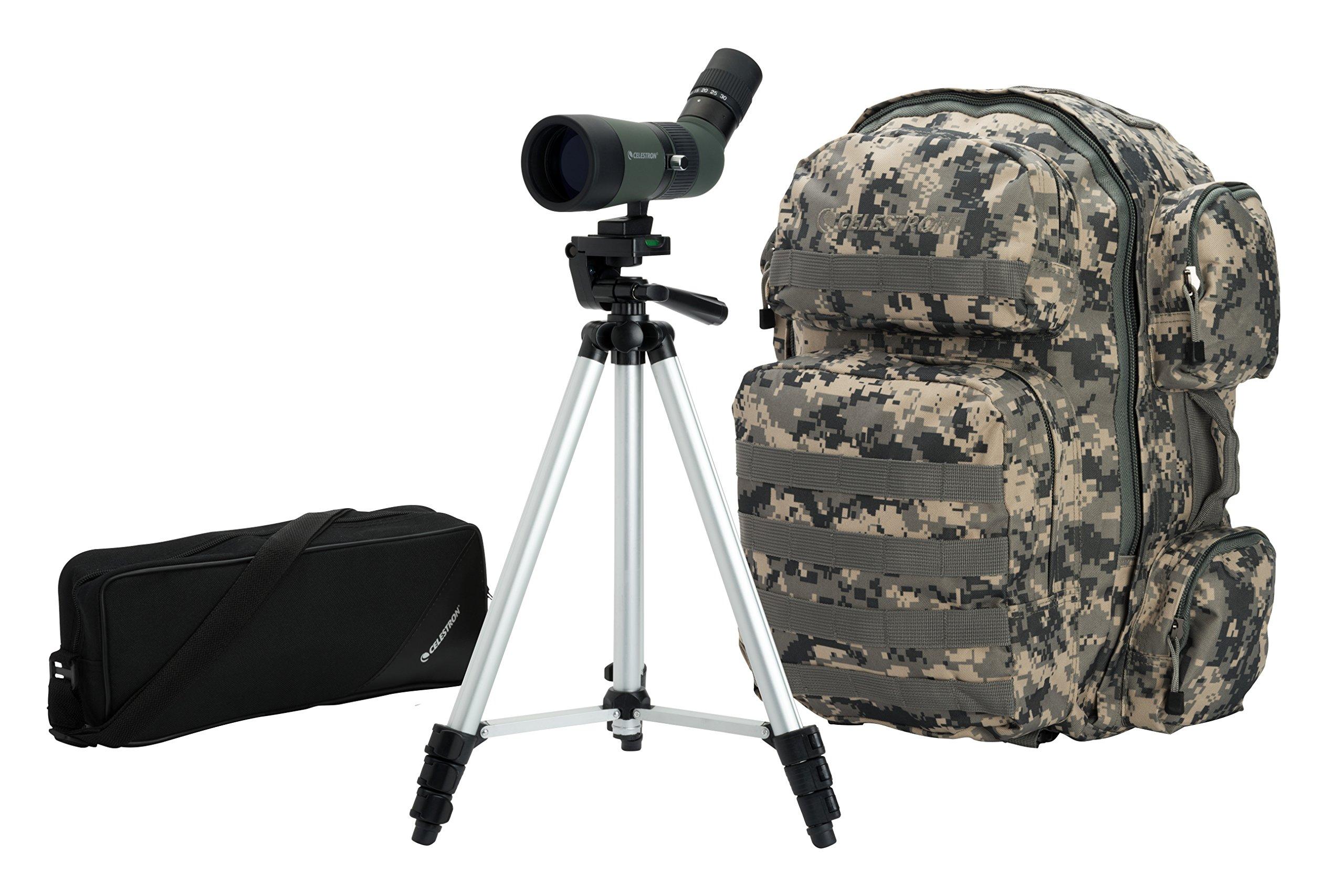 Celestron 52324 LandScout 10-30x50 Backpack Kit (Olive Green)