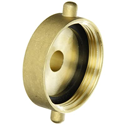 """Dixon Valve & Coupling HA2575T Brass Fire Equipment, Hydrant Adapter with Pin Lug, 2-1/2"""" NST (NH) Female x 3/4"""" NPT Male: Industrial & Scientific"""
