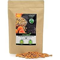 Abrikozenpitten (1kg), hele abrikozenpitten, natuurlijk, voorzichtig gedroogd, van gecontroleerde teelt