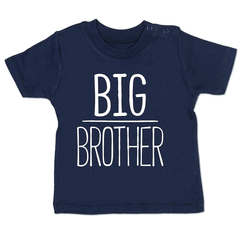 Shirtracer Geschwisterliebe Baby - Big Brother - Babyshirt Kurzarm BZ02